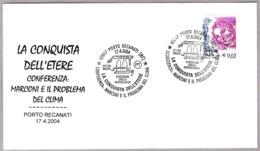 Conferencia MARCONI Y EL PROBLEMA DEL CLIMA. Porto Recanati, Macerata, 2004 - Protección Del Medio Ambiente Y Del Clima