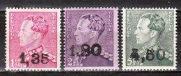 724X/Z*  Poortman Surchargé GHISLENGHIEN - Série Complète - MH* - Timbres Signés - LOOK!!!! - 1946 -10%