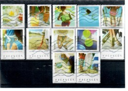 Serie Complete 140  Vacances - Used Stamps