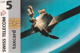 SUIZA. Telecom's Highest Member Of Staff (Satellite). SUI-CP-10A. (273) - Spazio