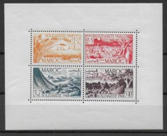 MAROC - BLOC YVERT N° 1 ** MNH - COTE = 28.6 EUR - Morocco (1891-1956)