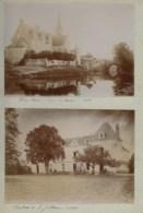 200919 - 4 PHOTOS 1896 - 44 Port Saint Père Château De La Jutière Pornic Plage Villa  - 37 Cinq Mars La Pile église - Francia