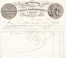 1871 - BIARD (86) Manufacture De TRICOTS & BONNETS Sans Coutures - François LAURENCE & Fils - Documents Historiques