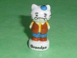 Fèves / Films / BD / Dessins Animés :  Hello Kitty , Grandpa , 2013   T41 - Dessins Animés