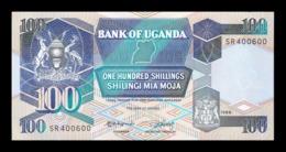Uganda 100 Shillings 1988 Pick 31b SC UNC - Uganda
