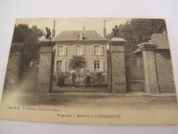C.P.A.- Brailly Cornehotte (80) - Une Propriété Et Les Jardiniers - 1913 - SUP (CT 70) - France