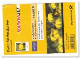 Duitsland 2009, Postfris MNH, MI FB2, Flowers ( Kleine Falte Oben Rechts ) - [7] República Federal