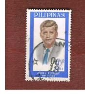 FILIPPINE (PHILIPPINES) - SG 991 -  1965 J.F.  KENNEDY COMMEMORATION  - USED ° - Filippine
