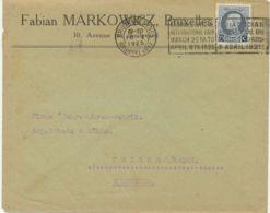 BELGIEN EXPO WELTAUSSTELLUNG 1925 BRUXELLES / BRUSSELS OFFICIAL / INTERNATIONAL - Covers & Documents