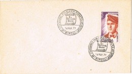 33971. Carta RIPOLL (Gerona) 1977. Jacint Verdaguer, Poema LA ATLANTIDA - 1931-Hoy: 2ª República - ... Juan Carlos I