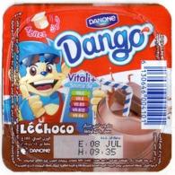 """Opercule Cover Yaourt Yogurt """" Danone """" Dango Yoghurt Yoghourt Yahourt Yogourt - Opercules De Lait"""