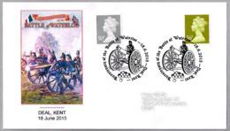 200 Años BATALLA DE WATERLOO - 200 Years BATTLE OF WATERLOO. Deal, Kent, 2015 - Napoleón
