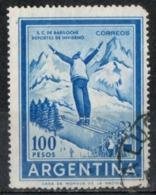 Argentina 1961 - Sport Invernali Sci Winter Sports Ski - Gebraucht