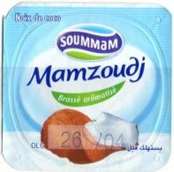 "Opercule Cover Yaourt Yogurt "" Soummam "" MAMZOUDJ Noix De Coco  Coconut Yoghurt Yoghourt Yahourt Yogourt - Opercules De Lait"