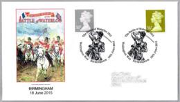 200 Años BATALLA DE WATERLOO - 200 Years BATTLE OF WATERLOO. Birmingham 2015 - Napoleón