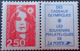 R1615/1141 - 1991 - TYPE MARIANNE DU BICENTENAIRE - N°2715a NEUF** - France