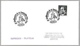 Matasellos 200 Años FUNDACION CAJA DE AHORROS PROVINCIAL DE MALAGA. Malaga, Andalucia, 1990 - 1931-Hoy: 2ª República - ... Juan Carlos I