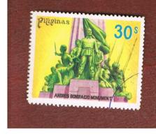 FILIPPINE (PHILIPPINES) - SG 1463 -  1978 A. BONIFACIO MONUMENT  - USED ° - Filippine