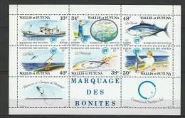 "Wallis Bloc YT 2 "" Marquage Des Bonites "" 1979 Neuf** - Blocks & Sheetlets"