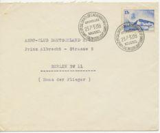 "BELGIEN FLUGPOST ""2. INT. SALON VOOR LUCHTVAART"" Selt. Zweisprachige SST 1939 - Aéreo"