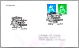 Matasellos PRESENTACION CORPORACION FILATELICA ESPAÑOLA. Madrid 1992 - 1931-Hoy: 2ª República - ... Juan Carlos I