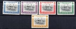 Serie Nº A-160/4 Guatemala - Guatemala