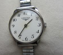 Montre Bracelet LONGINES Femme Classique Acier. Année 1978. - Montres Haut De Gamme