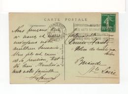 Sur CPA De Paris CAD Paris XVII R. Jouffroy Nov. 1923 Et Flamme Exposition Internationale Art Déco. 1925. (2521x) - Sellados Mecánicos (Publicitario)