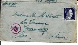 03 COMMENTRY - COURRRIER DE PRISONNIER ( TIMBRE NEUF ) - Briefe U. Dokumente