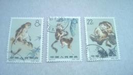 China 1963 Snub-nosed Monkeys - 1949 - ... República Popular