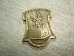 1937 SUISSE SCHWEIZ SWITZERLAND SETTLEMENT CITY  COLONY IN URUGUAY 75 ANIVERSARY BRONZE MEDAL - Jetons En Medailles