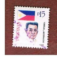 FILIPPINE (PHILIPPINES) - SG 3061  -  1999 REVOLUTION HEROES: E. AGUINALDO    (DATED 1999) - USED ° - Filippine
