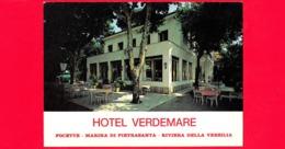 CARTOLINA – ITALIA - Toscana - Focette - Pietrasanta (Lucca) - Versilia - Hotel Verdemare - Italia