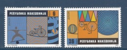 Macédoine - Europa - Yt N° 248 Et 249 - Neuf Sans Charnière - 2002 - Mazedonien