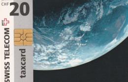 SUIZA. We Guarantee To Connect Even The Remotest Corner (Earth) 1999-05. SUI-CP-12A. (275) - Spazio