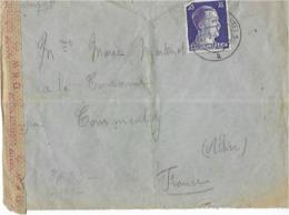 03 COMMENTRY -  COURRRIER  DE  PRISONNIER - Lettres & Documents