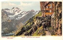 Cartolina Santis Wirtshaus Zum Aescher - Cartoline