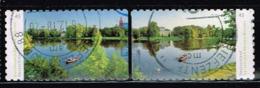 Bund 2018, Michel# 3405 - 3406 O Dessau-Wörlitz Garden, Selbstklebend - [7] Federal Republic