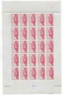 FEZZAN - YVERT N° 29 EN FEUILLE COMPLETE COIN DATE ** MNH - - Unused Stamps