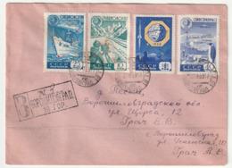 RUSSIE - LETTRE Avec Série POLAIRE (1958) Le 27/11/1958 - Other