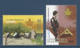 Macédoine - Europa - Yt N° 415 Et 416 - Neuf Sans Charnière - 2007 - Mazedonien