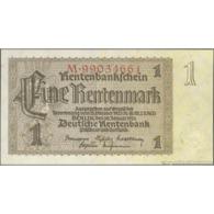 TWN - GERMANY 173b3 - 1 Rentenmark 30.1.1937 Prefix M UNC - Allemagne