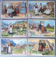 Figurine Liebig - Italia - Sang. 1040 - Antichi Costumi Norvegesi - 1912 - Liebig