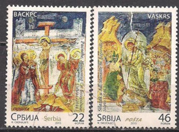 Serbien  (2013)  Mi.Nr.  493 + 494  Gest. / Used  (4fc35) - Serbien