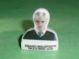 Fèves / Films / BD / Dessins Animés :  Harry Potter , Drago Malefoy , Feve Plate     T42 - Dessins Animés