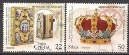 Serbien  (2013)  Mi.Nr.  491 + 492  Gest. / Used  (4fc32) - Serbien