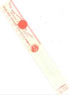 Marque Pages - Voyages / Reizen WASTEELS  Bilingue FR / NL - Agence De Voyages , Train, Chemins De Fer (b260 / 2) - Marque-Pages