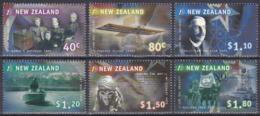 Neuseeland New Zealand 1999 Jahrtausendwende Millennium Mount Everest Pearse Rutherford Atomwaffen, Mi. 1807-2 ** - Nuova Zelanda