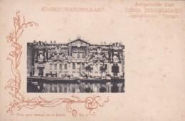 281037Kronings-Briefkaart Aangeboden Door Gebr. Dobbelmann, Zeepfabrikanten Nijmegen (zie Hoeken) - Nijmegen