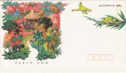 AUSTRALIE -  Entier Postal Neuf - Parth Zoo - Grenouille - Frog - Enteros Postales
